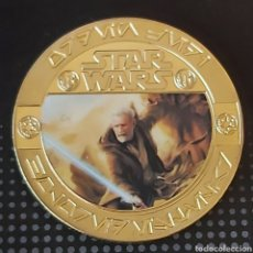 Medallas temáticas: EXCLUSIVA MONEDA DE ORO DE COLECCION DE STAR WARS ( LIMITED EDITION). Lote 260106145