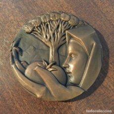 Medallas temáticas: MEDALLA BRONCE - ISLAS CANARIAS, FNMT, 1986. Lote 221406182