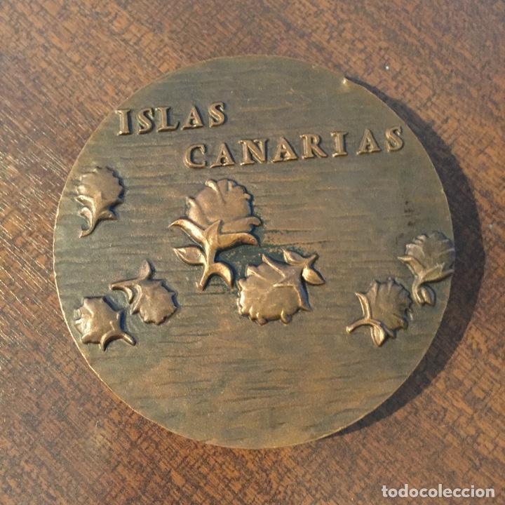 Medallas temáticas: Medalla bronce - Islas Canarias, FNMT, 1986 - Foto 2 - 221406182