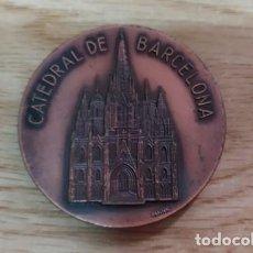 Medallas temáticas: MEDALLA CATEDRAL DE BARCELONA. EXPOHOGAR. MEDALLA-188. Lote 221950147
