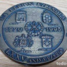 Medallas temáticas: MEDALLA LA LEGION ESPAÑOLA LXXV ANIVERSARIO. LEGIONARIOS A LUCHAR. MEDALLA-190. Lote 221957485