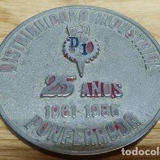 Medallas temáticas: MEDALLA DISTRIBUIDORA INDUSTRIAL 25 AÑOS PONTFERRADA MEDALLA-194. Lote 221958535