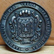 Medallas temáticas: MEDALLA TARDA FLUIT PIGRIS VELOX OPERANTIBUS. MEDALLA-195. Lote 221959127