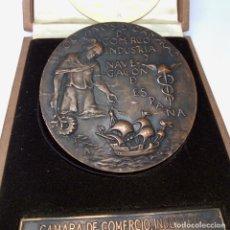 Medallas temáticas: GRAN MEDALLA, CENTENARIO CÁMARA DE COMERCIO, INDUSTRIA Y NAVEGACIÓN DE VALENCIA (1986). Lote 222099182