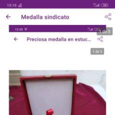 Medallas temáticas: PRECIOSA MEDALLA. Lote 222227212