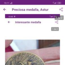 Medallas temáticas: PRECIOSA MEDALLA. Lote 222227385