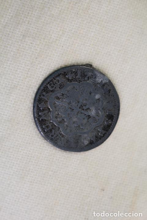 Medallas temáticas: COLECCION ORTIZ - LAS MONEDAS DE LOS BORBONES SERIE I FELIPE V 1721 2 REALES - Foto 3 - 222301570