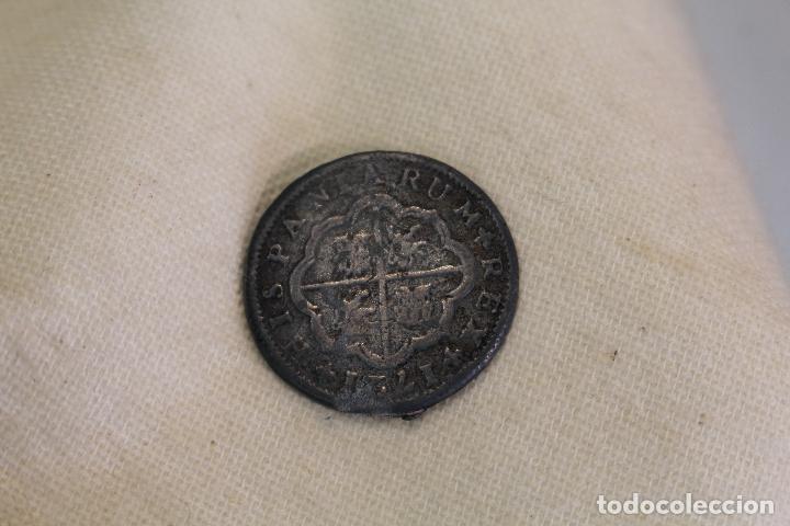 COLECCION ORTIZ - LAS MONEDAS DE LOS BORBONES SERIE I FELIPE V 1721 2 REALES (Numismática - Medallería - Temática)