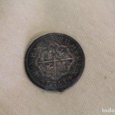 Medallas temáticas: COLECCION ORTIZ - LAS MONEDAS DE LOS BORBONES SERIE I FELIPE V 1721 2 REALES. Lote 222301570