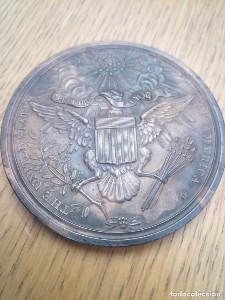 Medallas temáticas: Medalla bronce estados unidos independencia 1776 - Foto 3 - 222359927