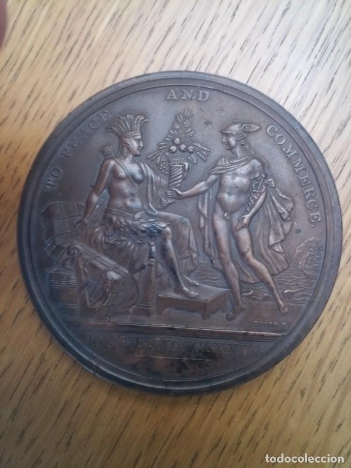 Medallas temáticas: Medalla bronce estados unidos independencia 1776 - Foto 4 - 222359927