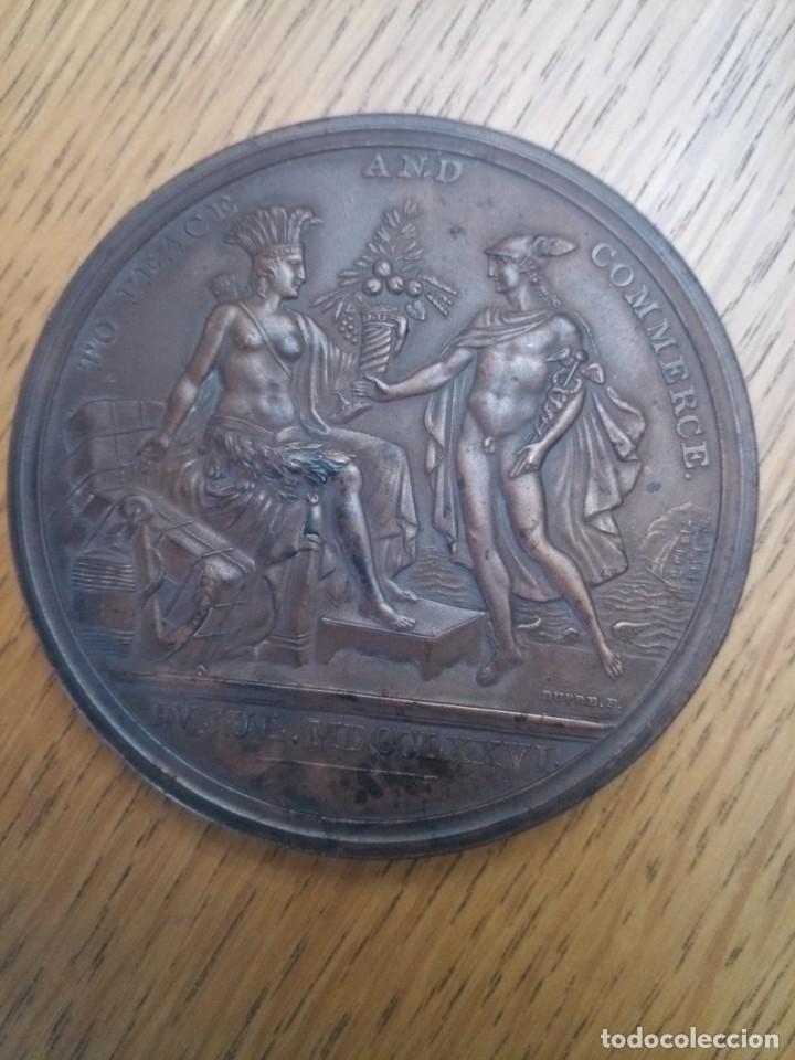 Medallas temáticas: Medalla bronce estados unidos independencia 1776 - Foto 5 - 222359927