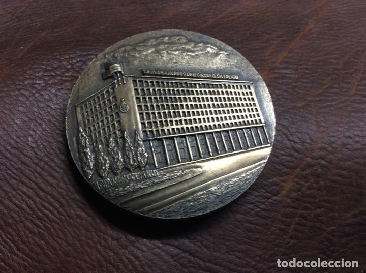 MEDALLA CAJA DE AHORROS CÍRCULO CATOLICO DE BURGOS (Numismática - Medallería - Temática)