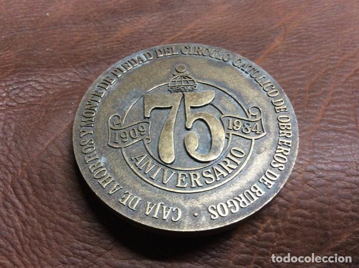 Medallas temáticas: Medalla caja de ahorros círculo catolico de Burgos - Foto 2 - 222572752