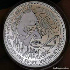 Medallas temáticas: 07B. MUY ESCASA. BAÑO PLATA 999. ALEMANIA. HEINRICH HERTZ. 2013. 9,2G / 32MM. Lote 222787257