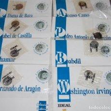 Medallas temáticas: LOTE DE 8 MEDALLAS DE PLATA DE COLECCION RELACIONADAS CON GRANADA. Lote 223051705