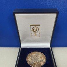 Medallas temáticas: MEDALLA MONDA UNICA UNION EUROPEA EURO 2002 PLATA 31 GRAMOS. Lote 223504365
