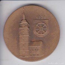 Medallas temáticas: MEDALLA DE ESLOVAQUIA DE ZA SOCIALISTICKY ROZVOJ MESTA - TRNAVA - DIAMETRO 5CM. Lote 224478620