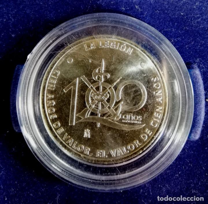 MEDALLA DE LA LEGIÓN, 100 AÑOS DE VALOR (Numismática - Medallería - Temática)