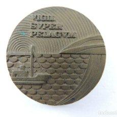 Médailles thématiques: MEDALLA COMPANIA TELEFONICA NACIONAL DE ESPAÑA 1977 VIGIL SUPER PELAGUM. Lote 224596868