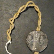 Médailles thématiques: SELLO O MEDALLA PLOMO BULA PAPAL GREGORIUS GREGORIO XV. Lote 225088920