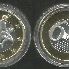 Médailles thématiques: MONEDA EROTICA DE FANTASIA- PRUEBA DE 6 EUROS SEX- KAMASUTRA - MODELO 22 - TOKEN SEXY. Lote 226035485