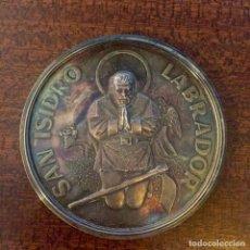 Medallas temáticas: GRAN MEDALLA PLATA SAN ISIDRO LABRADOR - MADRID (MÓDULO GRANDE). Lote 226644060