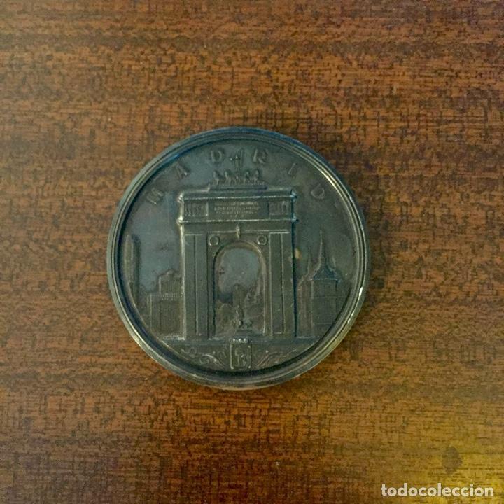 Medallas temáticas: GRAN MEDALLA PLATA SAN ISIDRO LABRADOR - MADRID (Módulo grande) - Foto 2 - 226644060