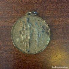 Medallas temáticas: MEDALLA DEPORTE CONCURSO ESCOLAR EN METAL - PARA COLGAR. Lote 226646380
