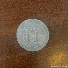 Medallas temáticas: MEDALLA EN METAL PLATEADO - XII CERTAMEN FILATÉLICO Y NUMISMÁTICO IBEROAMERICANO 1987. Lote 226647360