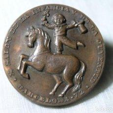Medallas temáticas: MEDALLA SALÓN DE LA INFANCIA Y DE LA JUVENTUD - BARCELONA - 1972 - UNIFAZ - D 5 CM. Lote 228070905