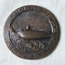 Medallas temáticas: MEDALLA 3 HORAS DE MADRID - CLUB NAÚTICO DE ESPAÑA - 1966 - D 5 CM. Lote 228072245