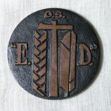 Medallas temáticas: MEDALLA ORGANIZACIÓN SINDICAL EDUCACIÓN Y DESCANSO -EXPOSICIÓN FILATÉLICA- BARCELONA - 1964 - D 5 CM. Lote 228072350