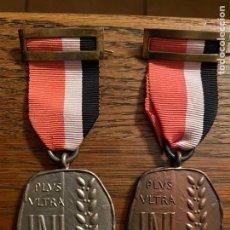 Medallas temáticas: MEDALLAS INI CATEGORÍA PLATA Y PLOMO. Lote 228984615