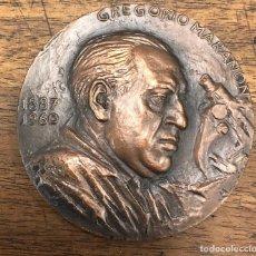 Medalhas temáticas: MEDALLA CONMEMORATIVA GREGORIO MARAÑON 1887-1960. Lote 230184425