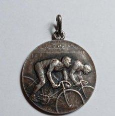 Medallas temáticas: MEDALLA CICLISTA DE LA FIRMA MEDAL HUGUENIN SWISS.. Lote 232191285