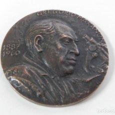 Medallas temáticas: MEDALLA F.N.M.T. GREGORIO MARAÑÓN. 1.960, MEDALLA HOMENAJE A D. GREGORIO MARAÑÓN, ACUÑADA POR LA FÁB. Lote 234180630