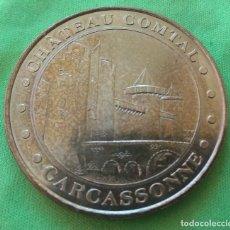 Medallas temáticas: MONEDA MEDALLA - MONNAIE DE PARIS - CHATEAU COMTAL - CARCASSONNE - 2007. Lote 234357410