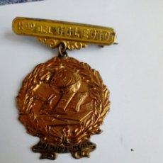Medallas temáticas: MEDALLA DE ESCUELA - RECUERDO DEL COLEGIO. DE LATON. Lote 234871400