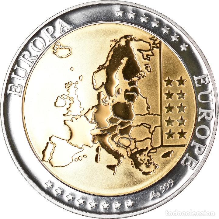 Medallas temáticas: Grecia, medalla, Euro, Europa, FDC, Plata - Foto 2 - 234899020