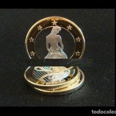 Medallas temáticas: MONEDA EROTICA DE FANTASIA- PRUEBA - 6 EUROS SEX- KAMASUTRA - MODELO 14 - TOKEN SEXY. Lote 235094710