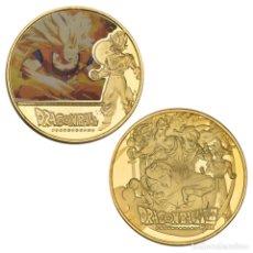 Medallas temáticas: MEDALLA CONMEMORATIVA DE LA SERIE ANIMADA DRAGON BALL Z - MODELO 5. Lote 235114585