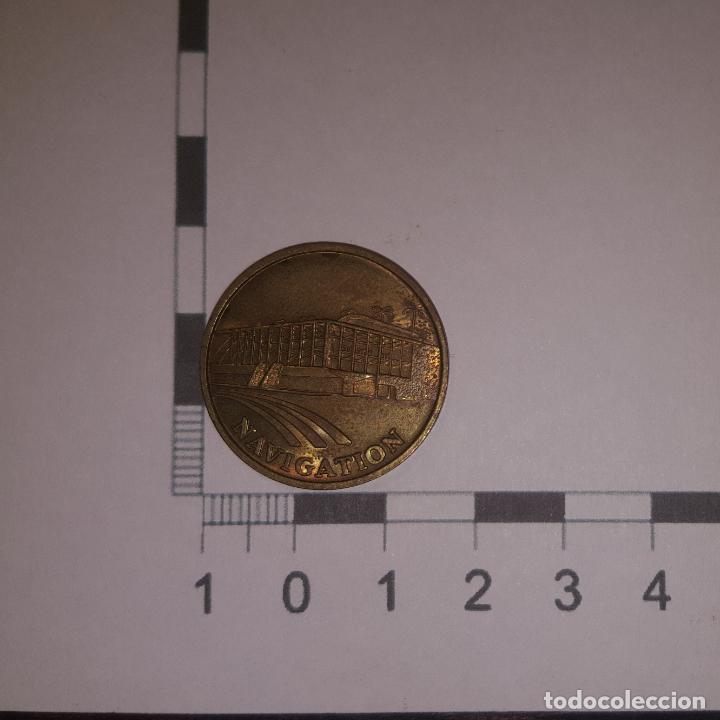MEDALLA CONMEMORATIVA EXPO 92 NAVIGATION (Numismática - Medallería - Temática)