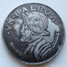 Medallas temáticas: ESPECTACULAR MONEDA VASCO NÚÑEZ DE BALBOA. Lote 235344535
