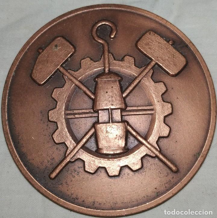 MEDALLA DE MINERÍA SANATORIO ADARO 1910-1985 LANGREO (Numismática - Medallería - Temática)