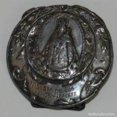 Medallas temáticas: MEDALLA NUESTRA SEÑORA DE LOS LLANOS, ALBACETE, CAFES TORREFACTOS, BAUTISTA GARCIA, MIDE 4,8 CMS.. Lote 236096505