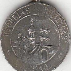 Medallas temáticas: MEDALLA: BILBAO ESCUELAS PUBLICAS - PREMIO DE HONOR. Lote 238479575