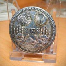 Medalhas temáticas: MONEDA DE COLECCION - SI O NO - EN RELIEVE - MONEDA DE LA SUERTE. Lote 239984415