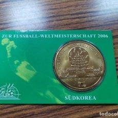 Medallas temáticas: MEDALLA DE LA COPA DEL MUNDO DE FÚTBOL 2006, EDICIÓN PARA KOREA DEL SUR. Lote 240025860