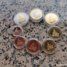 Medallas temáticas: ESPECIMEN DE EUROS 2003 DE POLONIA. Lote 240027275
